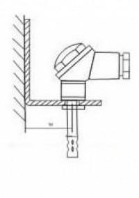 Кронштейн КД1–Kл для датчиков ДВТ-03.ТЭ и даталоггеров EClerk-USB-Kl