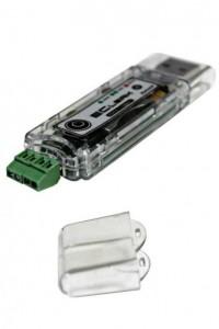 Автономный регистратор напряжения (логгер) EClerk-USB-2U