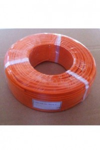 Гибкий высокотемпературный термокомпенсационный кабель S-FEP-TCB-SIL-2*0.2