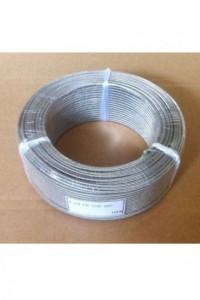 Гибкий высокотемпературный термокомпенсационный кабель K-FB-FB-SSB-2*0,5
