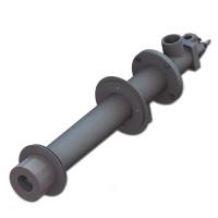 ПРОМА-ГГ1, горелка газовая с монтажной трубой (сводовая)