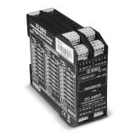24 канальный модуль с протоколом ModBus/CANopen дискретного вывода ZC-24DO