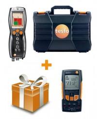 Комплект testo 330-1 LL + Мультиметр testo 760-2 с магнитным креплением