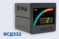 Измеритель-сигнализатор давления с дуговой графической шкалой ИСД332