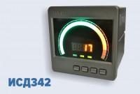Измеритель-сигнализатор давления с круговой графической шкалой ИСД342