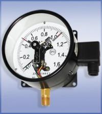 Манометры ДМ Сг 05 сигнализирующие с электроконтактной приставкой